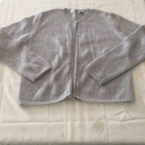 Old Navy light grey cardigan sweater size L